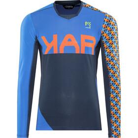 Karpos Jump Maglia jersey a maniche lunghe Uomo, insignia blue/bluette